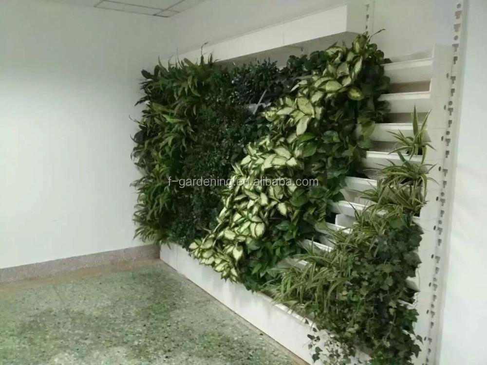Smart tuin hydrocultuur kunstmatige groene muur systeem for Jardin hydroponique