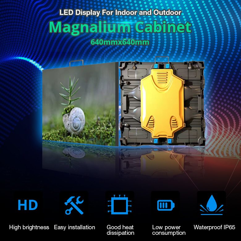 high quality p5 smd3528 ali led display full video/32x16 led screen