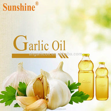 Shuangyuan Food Grade 100% Pure Natural Garlic Oil Extraction/Price, ,FCC Standard, FDA registration