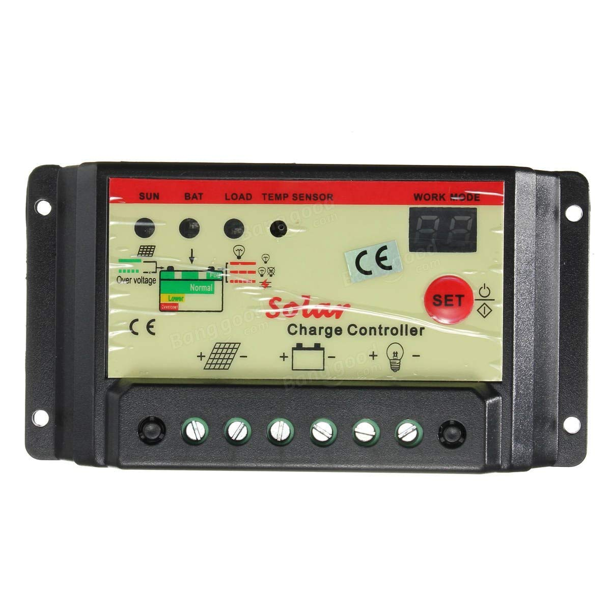 10A 12V 24V Solar Panel Battery Regulator Auto Switch Charge Controller - Electrical Gadgets & Tools Solar Panel Controller-1 x Solar Controller,1 x User Manual