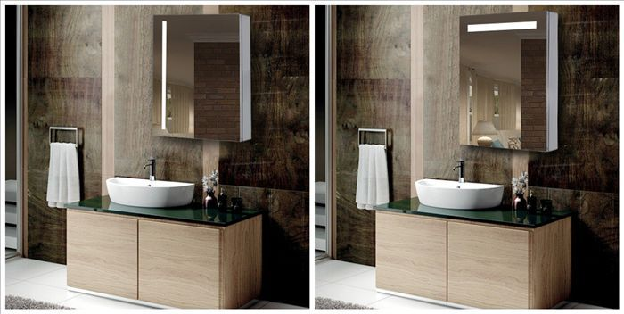 Amaze Led Illuminated Bathroom Mirror Cabinet