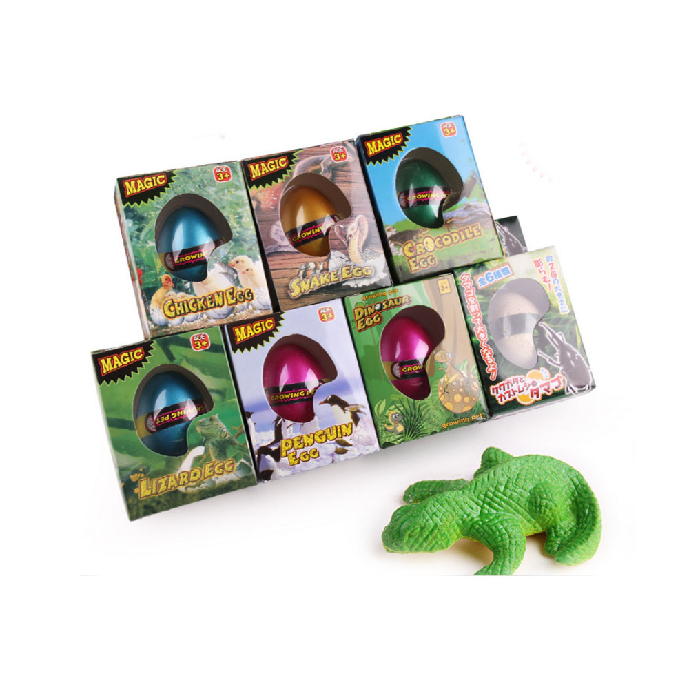 Magic Hatching Dinosaurs Add Water Growing Dino Eggs Inflatable Child Kid Toy LY