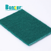 heavy duty green scouring pad for dish washing