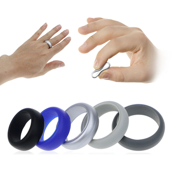 Fireproof Silicone Wedding Ring For Men And Ladies View silicone