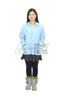 ESD Short Cotton smock LTLD117