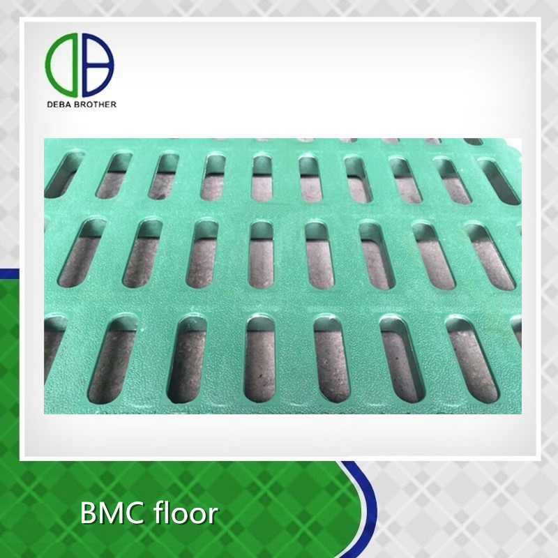 Tough/strong degrees friction resistance piglet plastic flooring for sale