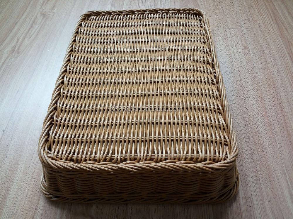 Basket Weaving Materials Canada : Plastic food grade material weaving baskets wicker storage