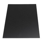 In-Stock Items Carbon Fiber 3k Black Carbon Fiber Plate Board Twill Plain Glossy Matte Surface 400mm*500mm*2mm Carbon Fiber Plate Sheet