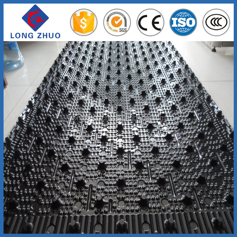 Specialized Production Filler/ New Material PVC Cooling Tower Fill 750*1600MM