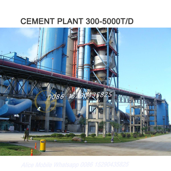 experienced 5000tpd Cement turnkey plant, cement production line Uzbekistan Tashkent contact