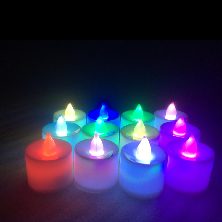 Promotional Cheap Flameless Flicker Electric Taper Candle Light