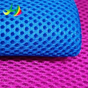 Factory direct sales 100% polyester air mesh fabric spacer mesh for shoes