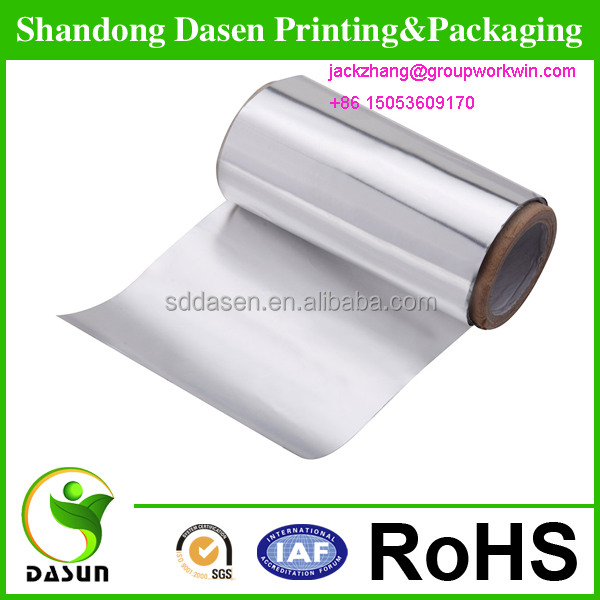 Packing Chocolate wraps Foil colored aluminum foil paper