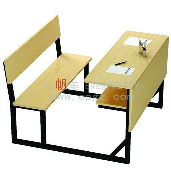 Wooden Study Table Design,School Desk With Bench,School Desk For ...