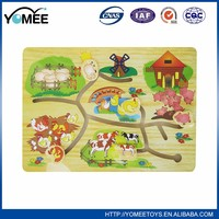 Hot sale educational games toy sliding puzzle