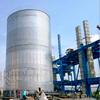 Hot sale Galvanized steel mixing silo price