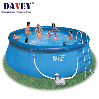 2017 Intex easy set swimming pool with dimension size 366*91cm, View intex  swimming pool, DAVEY Product Details from Guangzhou Tianyu Swimming Pool ...