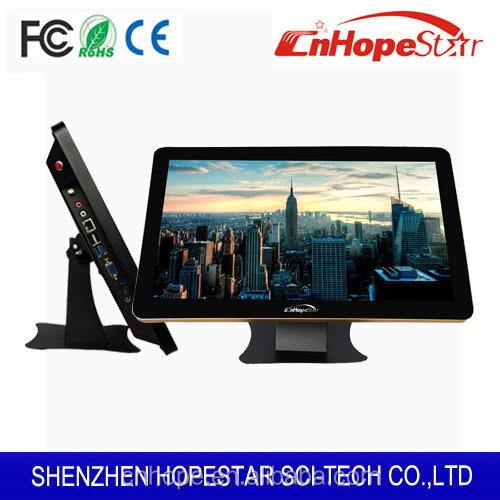 15.6 18.5 21.5 27 inch All in one touch pc/ desktop wall mounted tablet pc