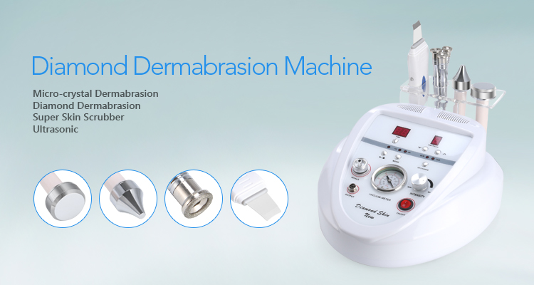 Beauty equipment skin scrubber Desktop ultrasonic skin microdermabrasion
