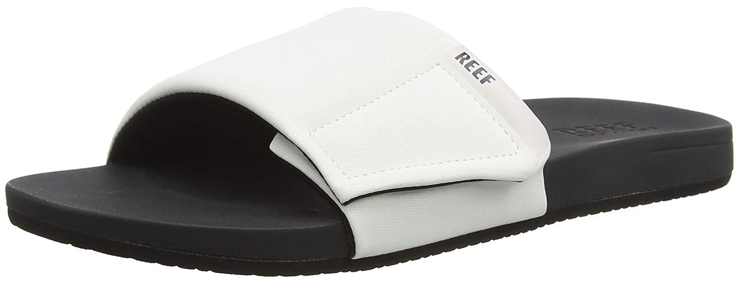 bef5f0a71b66e Get Quotations · Reef Men s Cushion Bounce Slide Sandal