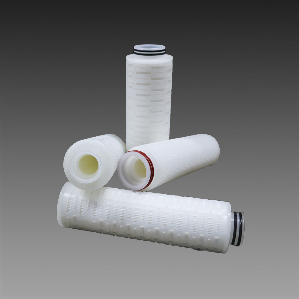High Efficiency PP Pleated 1 Micron Industrial Water Filters For Pharmaceutical <strong>Filtration</strong>