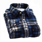 cheap price wholesale plaid flannel shirt