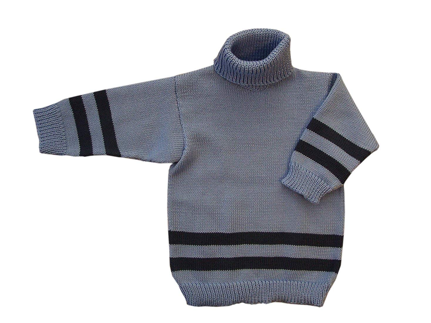 78f6111caee Get Quotations · Merino Wool Knitted Polo Neck Sweater Turtleneck