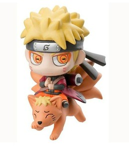 Japan hot toys q-version naruto cartoon anime action figure