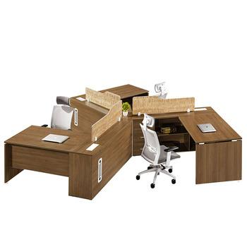 120 Degree Workstation Seater Office For 3 Person Desk Design Buy
