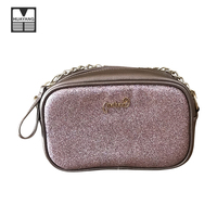 New Design Quilted PU Leather Chian Handbag Small Women Clutch Bag With Cheap Price