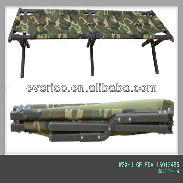 Military Heavy Duty Aluminum Double Folding Camping Bed Ce Fda ...