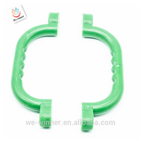 different color of plastic handle ,high quality kids handle