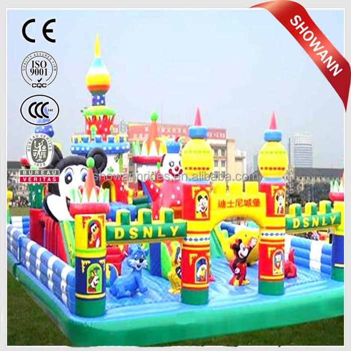 2016 New product hot selling kiddie ride inflatable for sale
