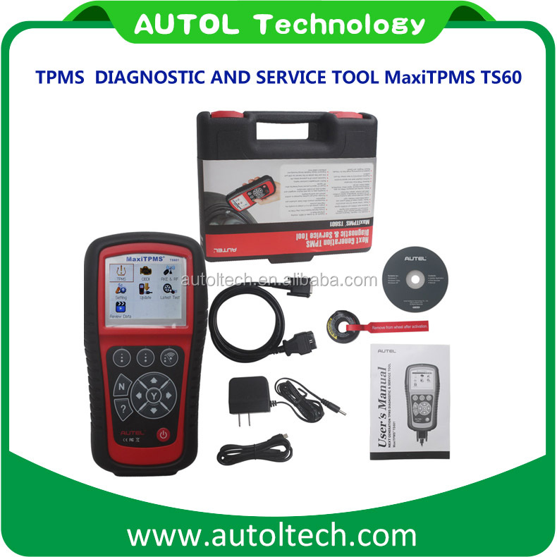 AUTEL MaxiTPMS TS601 diagnostic multi car scanner software free update online tpms ts601