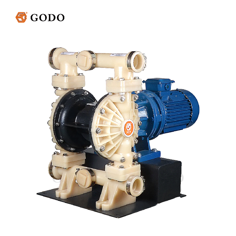 DBY3S-15 Cast Steel Electric Small Diaphragm Pump Air Driven Water Treatment
