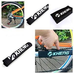 NEW PATROL CHAINSTAY Reflective Protector Black CHAINGUARD