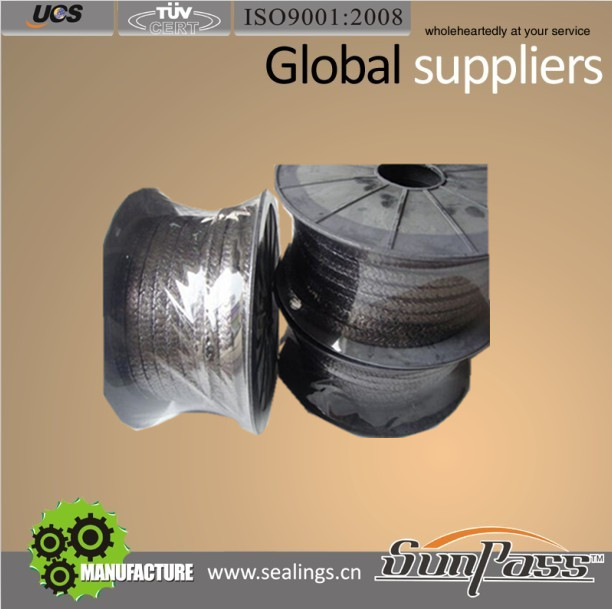 Industrial Rubber and Gasket Sealing Inconel Wire Graphite Gland Packing