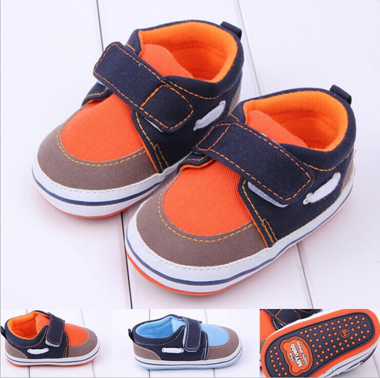 Free Shipping Brand New Baby Shoes Baby Sneakers Newborn boys Shoes Kids Shoes First Walkers 2 colors Zapatos para bebe