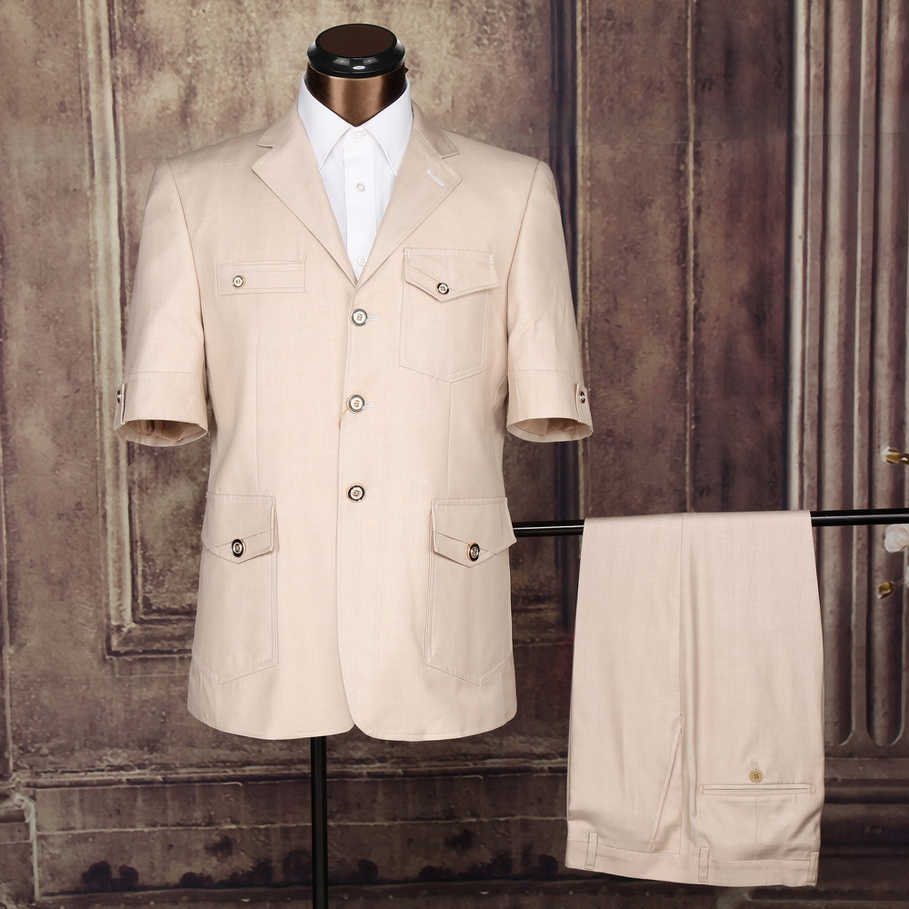 latest design beige safari suit for mens