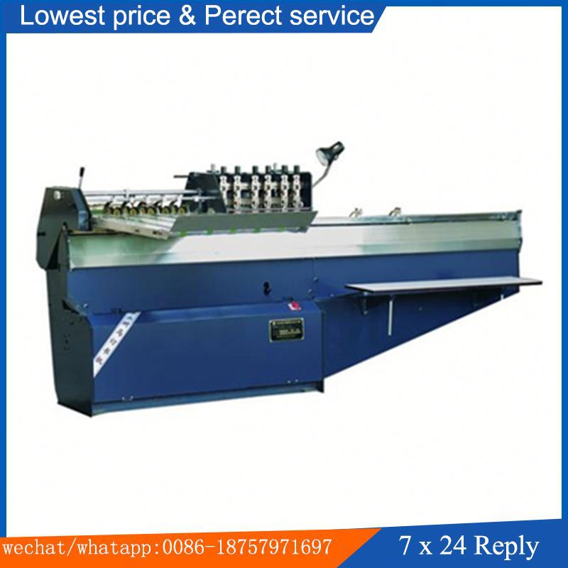 After-printing Promissory Lowest Price SM-DQB604/604L semi auto book binding saddle stitching machine