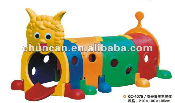 Kids Plastic Caterpillar Tunnel Toy Kid Play Playground Toys