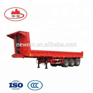 Best selling 3 axle tipper semi trailer/heavy duty dump truck tipper trailer for sale