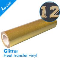 Kenteer Cheap glitter heat transfer film price for t-shirt