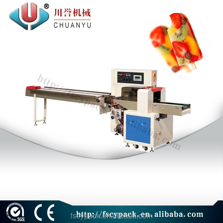 Hot sale automatic high speed popsicle packing machine/frozen sucker packing machine