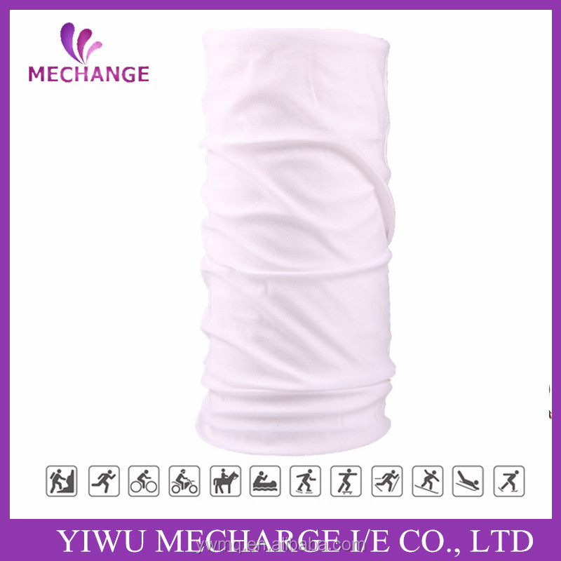 Multifunction Biker Microfiber Sublimation Printing custom outdoor yoga stretch headband