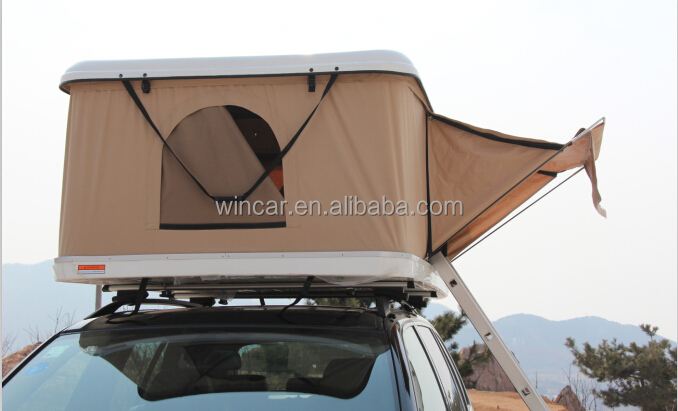 Hard Shell Automatic Type Fibreglass Car Roof Top Tent Worked By Gas Strut  - Buy Hard Shell Roof Tent,Automatic Fibreglass Car Roof Top,Roof Tent By