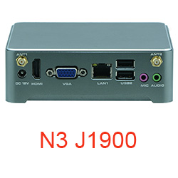 Partaker N4 NUC Fanless Mini Pc Computer Nano PC With Intel Core N2805