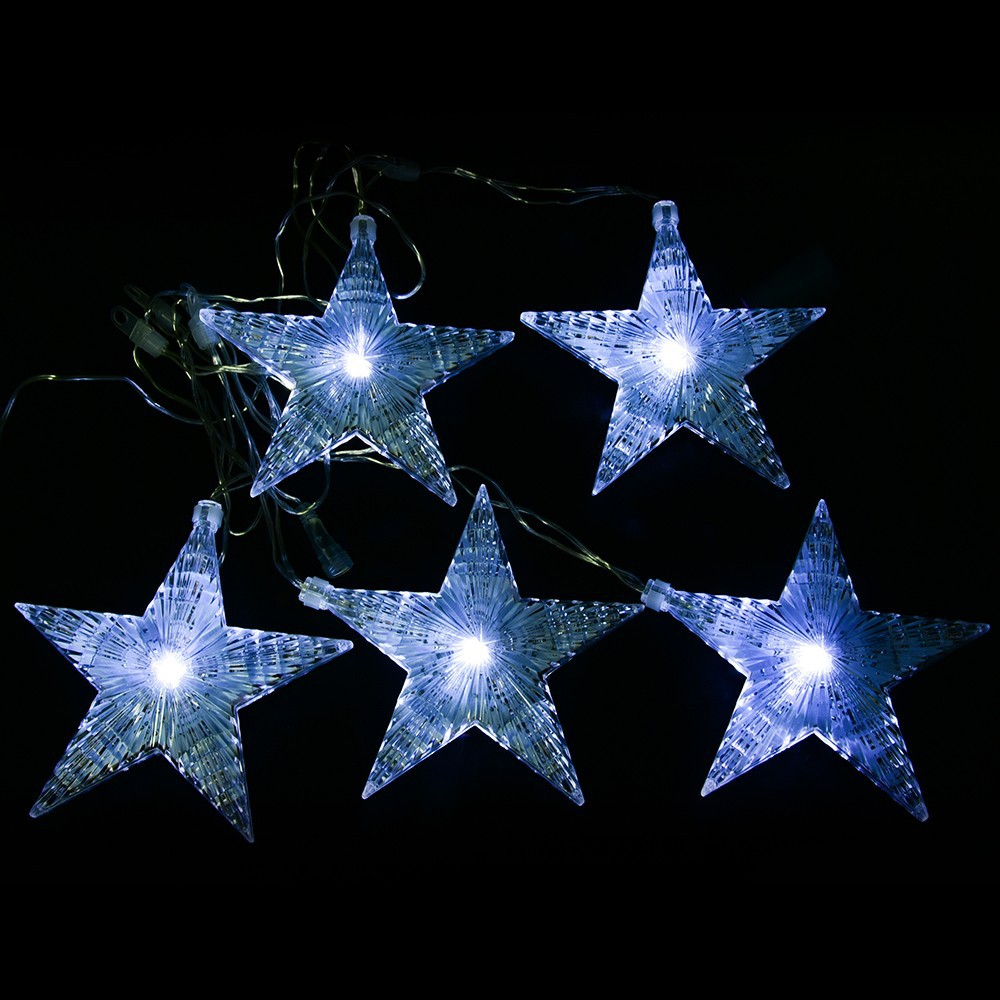 Factory Price Led Christmas Star String Lights Programmable Led ...