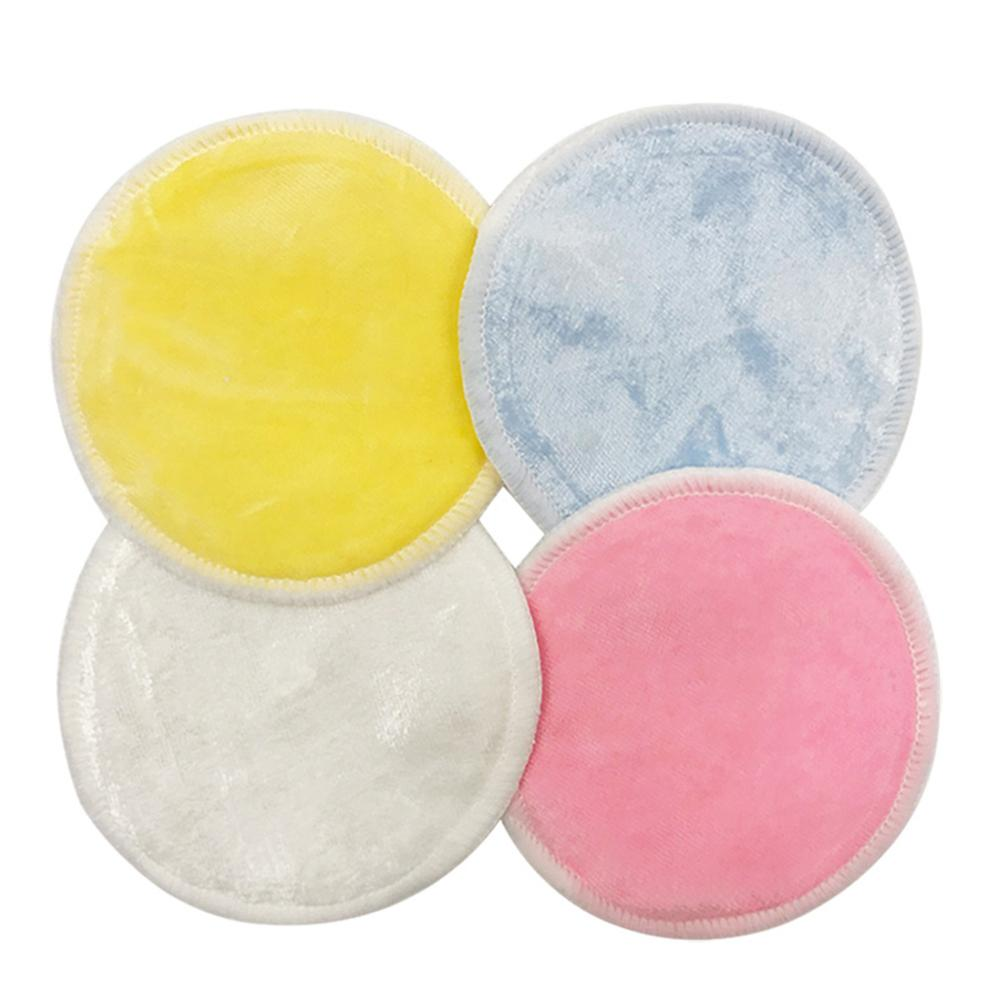 Facial Cleaning Pads Bamboe Herbruikbare Makeup Remover Pads Wasbare Facial Katoen Rondes Wit