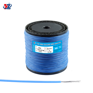 Factory Direct Sales 28guage Heat Resistant Silicone Coated Wire